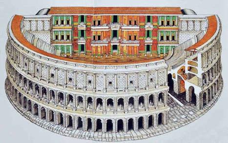 El teatro Marcelo, el primero de Roma - Revista de Historia | History 2[+or less 3].0 | Scoop.it