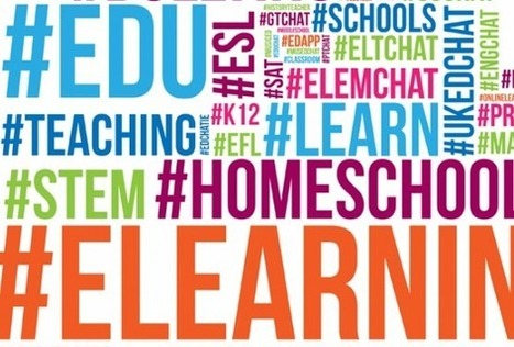 The Teacher's Quick Guide To Educational Twitter Hashtags - Edudemic | Creating a PLN | Scoop.it