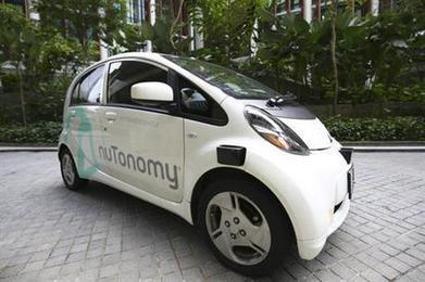 "World's first self-driving taxis debut in Singapore (""the robotic era has begun; drivers replaced"") 