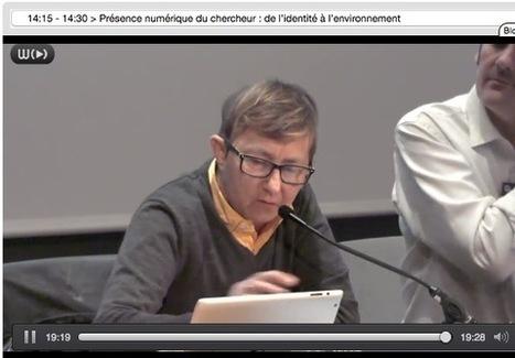 Présence numérique du chercheur : de l'identité à l'environnement   Louise Merzeau   Educnum   Scoop.it
