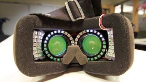 """How side-mounted LEDs can help fix VR's """"tunnel vision"""" and nausea problems 