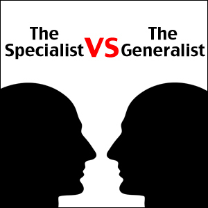 Are You A Generalist Or Specialist? | Nonprofit jobs | Scoop.it
