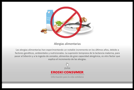 Infografía: Alergias alimentarias | Apasionadas por la salud y lo natural | Scoop.it