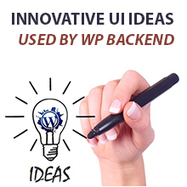 An Overview of Innovative UI Ideas Used by WordPress Backend ~ Web Designer Pad | Web Designer Pad | Scoop.it