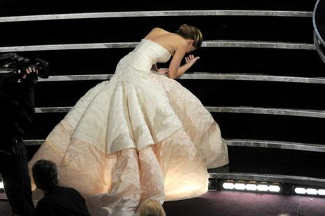 Jennifer Lawrence teme que sus fans se 'cansen' de sus tropiezos   Social:3   Scoop.it