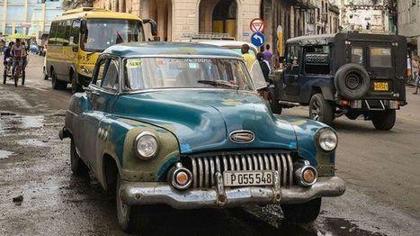 Cubaanse oldtimers nog geen verleden tijd door woekerprijzen   kap-BoetsA   Scoop.it