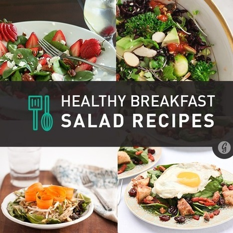 6 Delicious Breakfast Salads From Around the Web | Health and Nutrition | Scoop.it