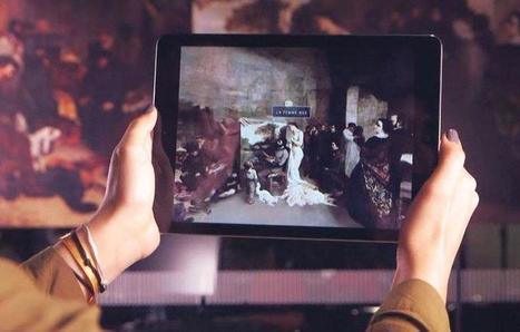 Réalité augmentée : quel intérêt pour les musées ? - Cultureveille   Geek, applications, objets connectés   Scoop.it