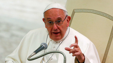 'Caress with the right hand, strike with the left': Pope Francis condemns Syrian arms suppliers | Saif al Islam | Scoop.it