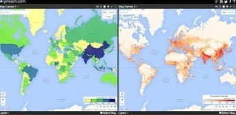 Free Technology for Teachers: Students Can Compare Maps Side-by-Side in GE Teach | eLearning and Blended Learning in Higher Education | Scoop.it