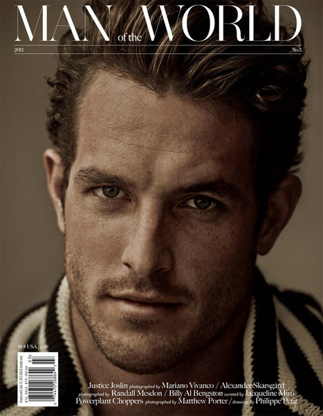 Justice Joslin for Man of the World | JIMIPARADISE! | Scoop.it