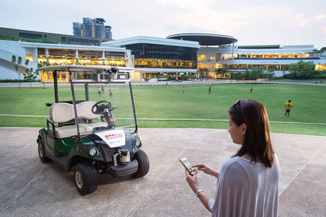 SMART begins live public robocar tests in Singapore today   Robots in Higher Education   Scoop.it