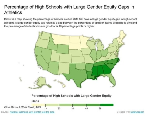 Gender equity in sports | Geography Education | Scoop.it