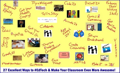 27 Meaningful Ways to Use EdTech … THINGLINK Style! — Emerging Education Technologies | Serious Play | Scoop.it