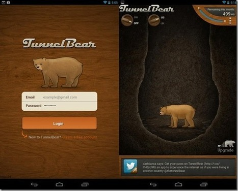 TunnelBear For Android Brings Free VPN To Access Restricted Websites | WML Cloud | Android Guides | Scoop.it