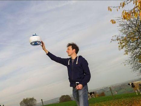 Un Belge construit le drone le plus sûr au monde | Jaclen's technologies | Scoop.it