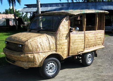 Bamboo Taxis Arrive in Philippines Town | Living In The Philippines | Scoop.it