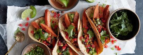 Spiced Sweet Potato Tacos - Plant-Based Vegan Recipe | Vegan Food | Scoop.it