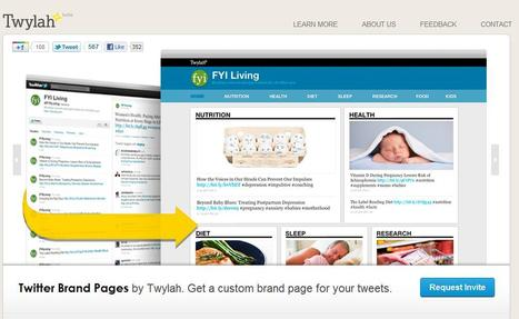 Twylah - a custom site for your tweets | Social media kitbag | Scoop.it