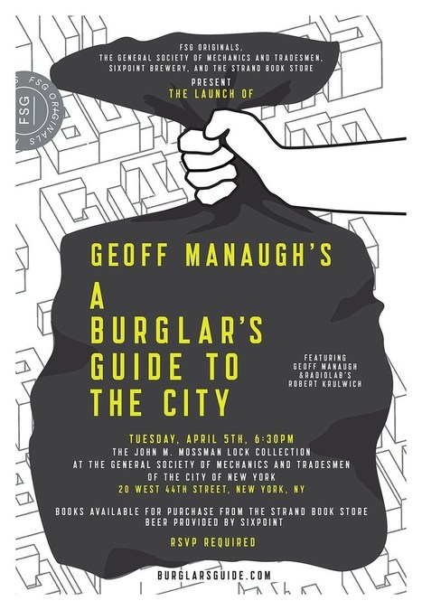 A Burglar's Guide to the City – BLDGBLOG | Edutainment | Scoop.it