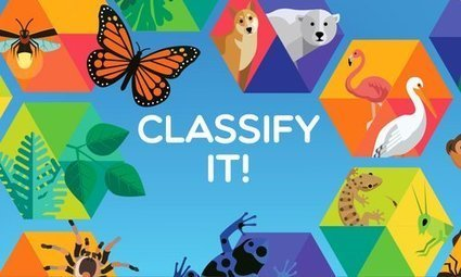 Classify It! - Science NetLinks | NGSS Resources | Scoop.it