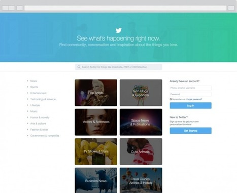 Twitter.com gets a refresh | Twitter Blogs | Public Relations & Social Media Insight | Scoop.it