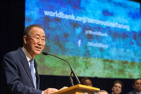 A Washington, Ban Ki-moon souligne l'importance des secteurs privé et public pour lutter contre le changement climatique | Développement durable et efficacité énergétique | Scoop.it