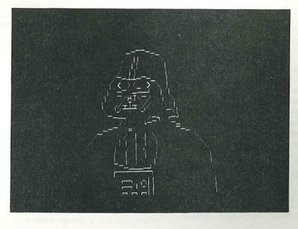 ASCII ART Photo: ASCII Darth Vader | ASCII Art | Scoop.it