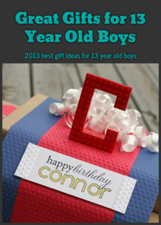 Great Gifts for 13 Year Old Boys: 2013 best gift ideas for 13 year old boys | Fun Stuff For Kids | Scoop.it