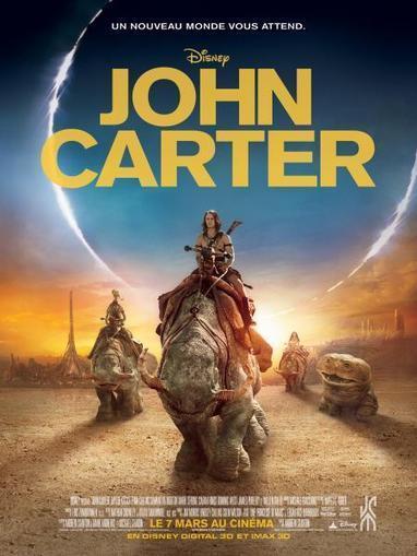 """John Carter"" : les studios Disney adaptent les aventures du héros d'Edgar Rice Burroughs | BiblioLivre | Scoop.it"