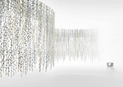 conic-vine by Nendo per Alcantara Kaleidoscope @ Superstudio Più, una poetica interpretazione del materiale | Salone del mobile 2014 | Scoop.it