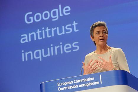 Vestager: 'L'UE è pronta ad indagare su Alphabet su più fronti' | InTime - Social Media Magazine | Scoop.it