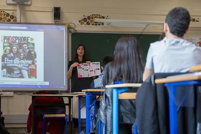 Initiatives tous azimuts pour la Semaine de la presse à l'école | La-Croix.com - Médias | Emi Journalisme | Scoop.it