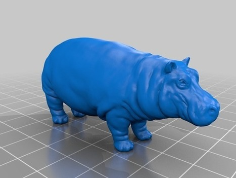 Hippo by YahooJAPAN - Thingiverse   3D Product Design   Scoop.it