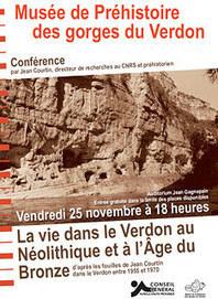 La vie dans le Verdon au Néolithique- Conférence - Hominidés | World Neolithic | Scoop.it