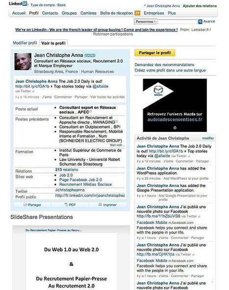 Comment customiser vos profils sociaux pros ? - JOB 2.0 | Time to Learn | Scoop.it