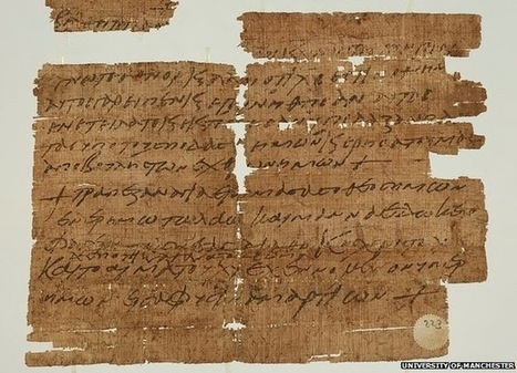 Les Découvertes Archéologiques: Un ancien charme écrit en grec et citant la Bible trouvé dans une bibliothèque | Trucs de bibliothécaires | Scoop.it