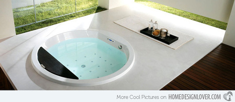 15 Artistic and Environment friendly Bathtubs from Teuco | Home living Spaces - Kitchen - Bathroom - Living | Scoop.it