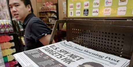 Snowden a des documents secrets sur les cyberattaques en Chine | Geeks | Scoop.it