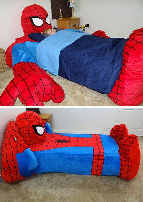 SpiderMan Bed Cover | All Geeks | Scoop.it