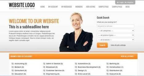 9 Best Responsive WordPress Job Board Theme Collection 2014 | WordPress Themes | Scoop.it