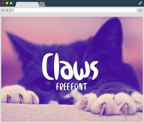 Claws Free Font Family | Designrazzi | Bazaar | Scoop.it