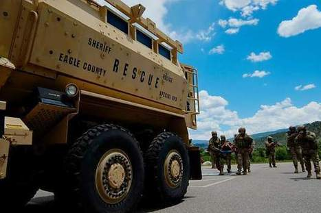 U.S. military donates armored vehicle to local law enforcement - Vail Daily News   Operational Risk Management (ORM)   Scoop.it