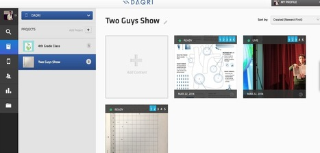 Two Guys and Some iPads: 6 Platforms to Create Augmented Reality   Edtech PK-12   Scoop.it