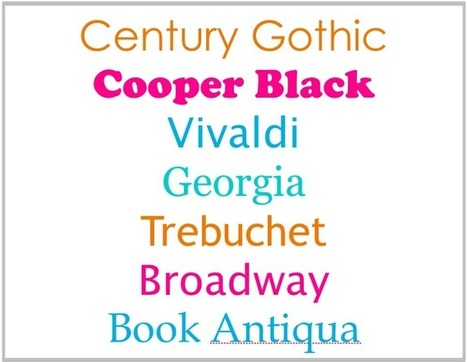 e-Geeking: Advice on choosing typefaces | Visual & presentation design | Scoop.it