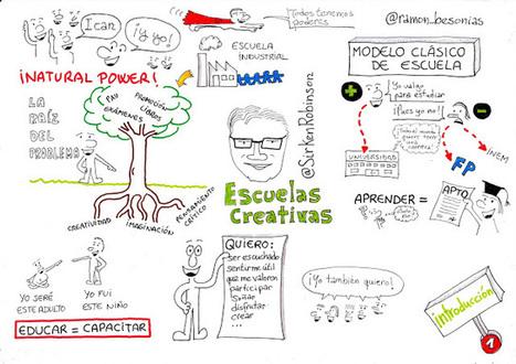 Escuelas creativas, de Ken Robinson (1): Reflexiones preliminares | Gestión del Talento | Scoop.it