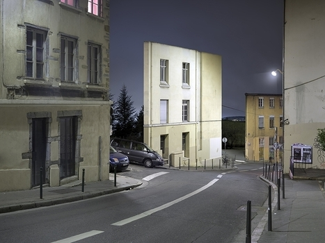 Isolated Building Facades by Zacharie Gaudrillot-Roy | Art contemporain | Scoop.it