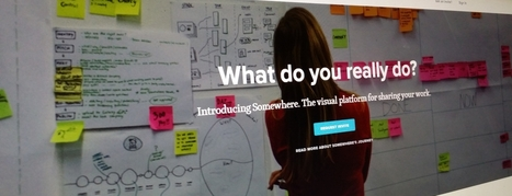 Somewhere is a new visual platform for showing off your work and skills | Social Foraging | Scoop.it