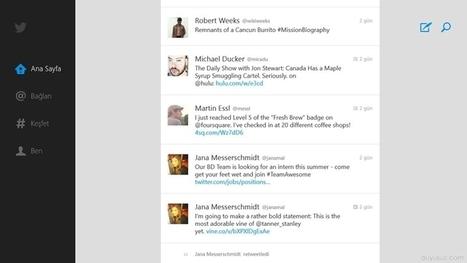 Windows 8 İçin Twitter | Teknoloji Blogu, En son ve güncel teknoloji haberleri | Teknoloji Blogu | Scoop.it