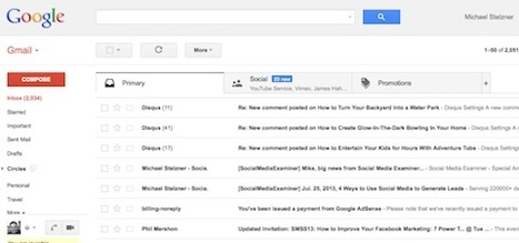 Gmail Tabs: A Game Plan for Marketers | Knowledge Management for Entrepreneurs | Scoop.it